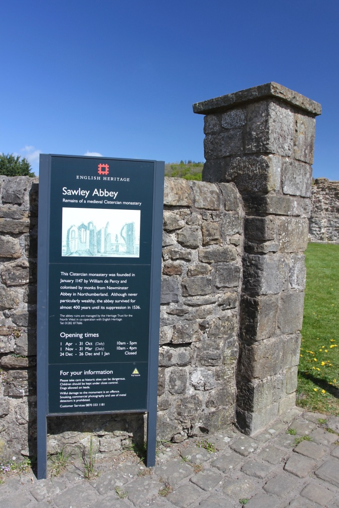 Sawley Abbey, Pendle, Lancashire
