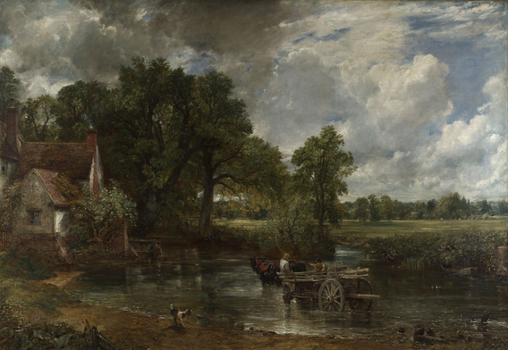 The Hay Wain (courtesy of the National Gallery)