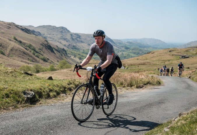 A camelid on Hardknott Pass, Fred Whitton Challenge © Steve Fleming 2017