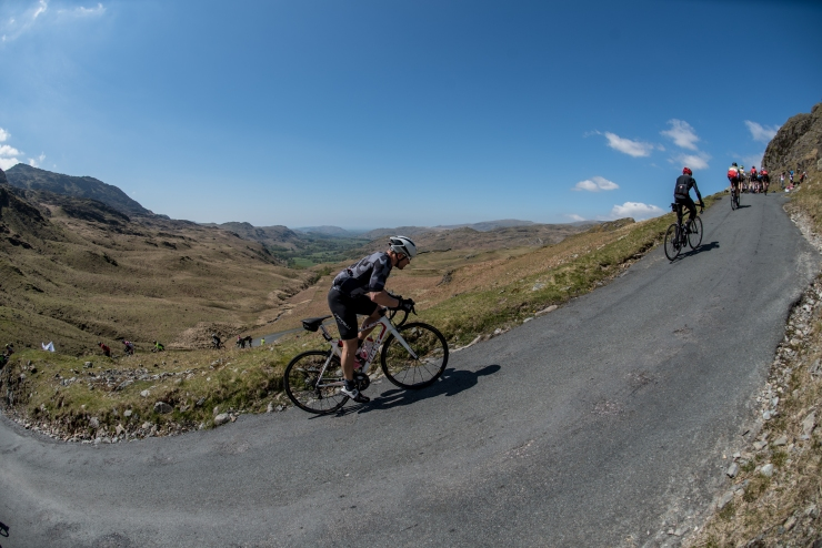 Hardknott Pass, Fred Whitton Challenge © Steve Fleming 2017