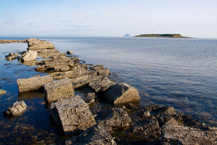 Pladda and Ailsa Craig, Kildonan, Isle of Arran, Scotland