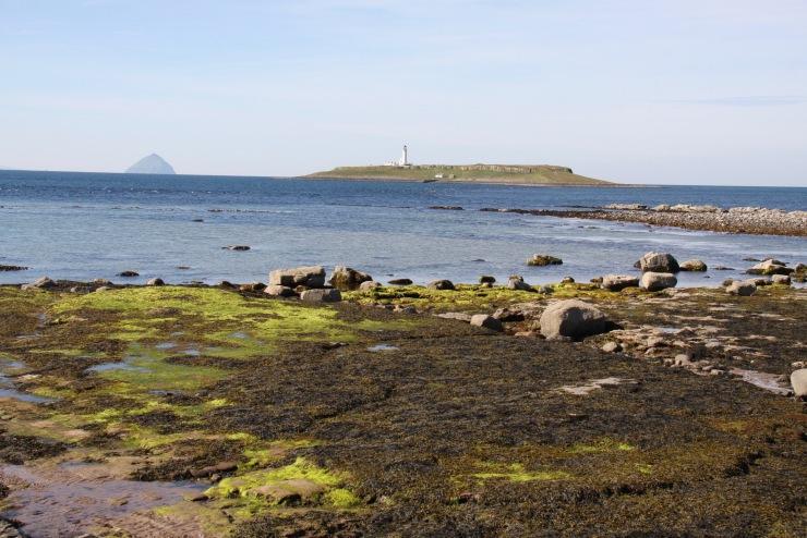 Pladda and Ailsa Craig, Kildonan, Isle of Arran, Scotland