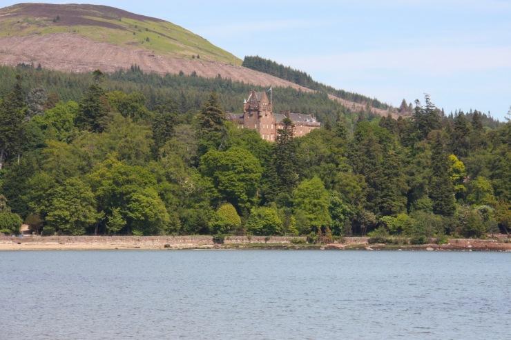 Brodick Castle, Isle of Arran, Scotland