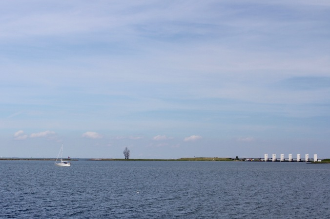 Boats on the Markermeer, Lelystad, Netherlands