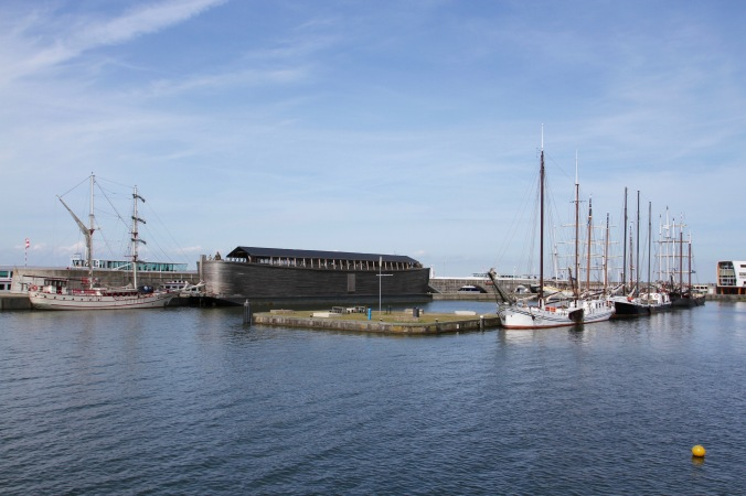 Replica Noah's Ark, Markermeer, Lelystad, Netherlands