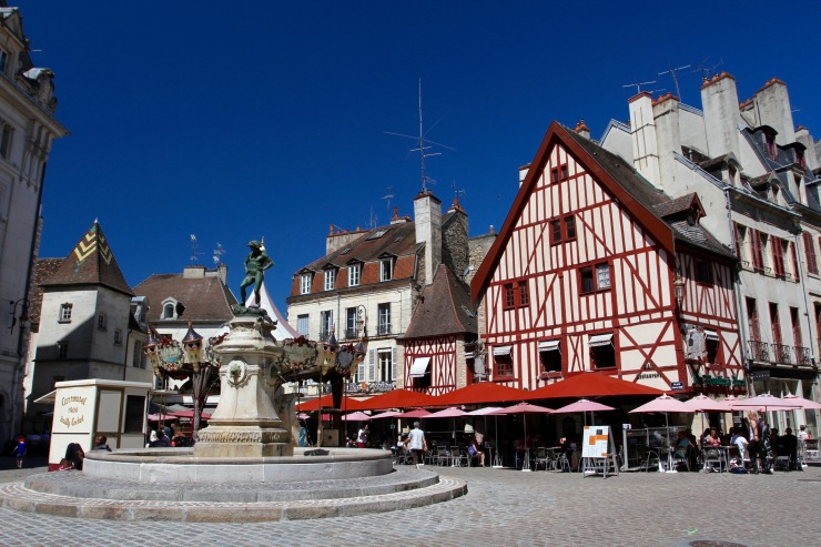 Place Francois Rude, Dijon, France