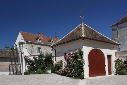 Vougeot, Route des Grand Crus, Cote de Nuits, Burgundy, France