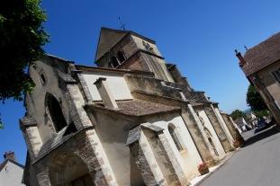 Route des Grand Crus, Cote de Beaune, Burgundy, France