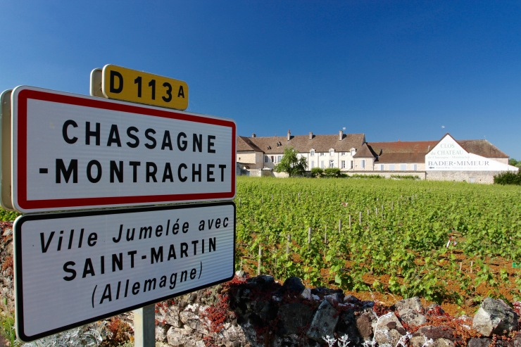 Chassagne-Montrachet, Burgundy, France