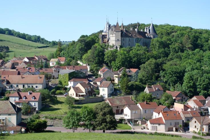 Château de La Rochepot, Cote de Beaune, Burgundy, France