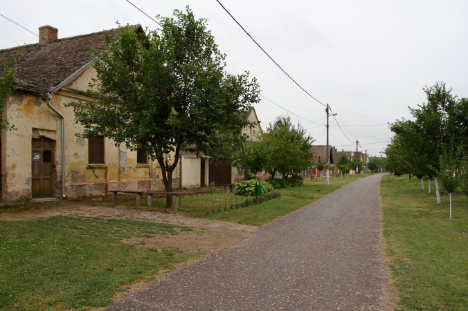 The village of Bač, Serbia