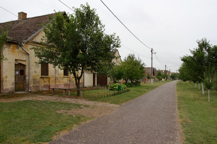 The village of Bač, Serbia