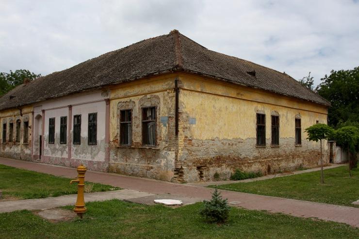 Village en route to Bač, Serbia