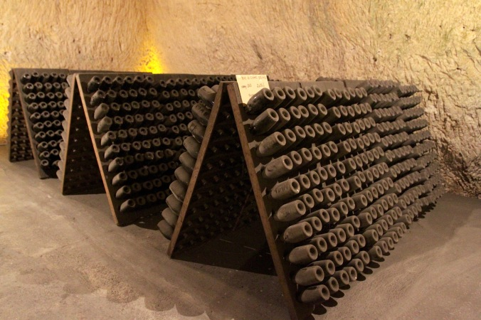 The Crayères cellars, Veuve Clicquot, Reims, France
