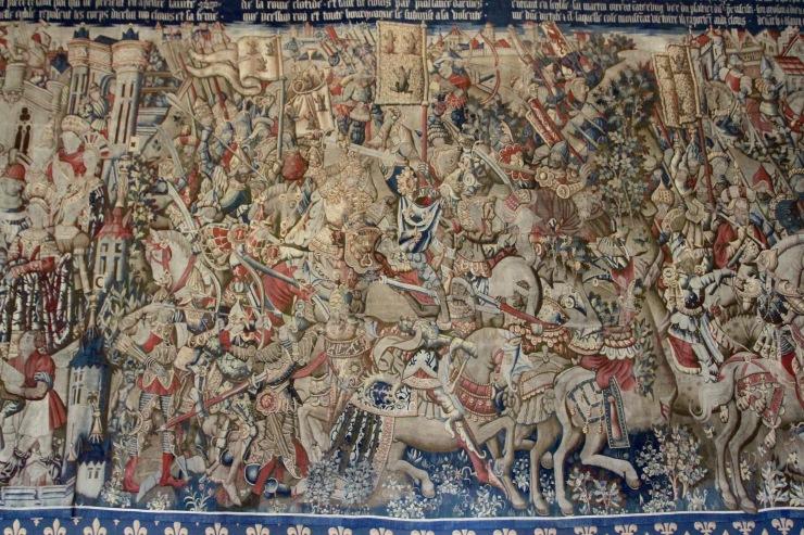 Tapestries, Palace of Tau, Cathedral de Notre-Dame de Reims, France