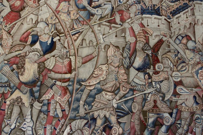 Tapestries, Palace of Tau, Cathedral de Notre-Dame de Reims, France