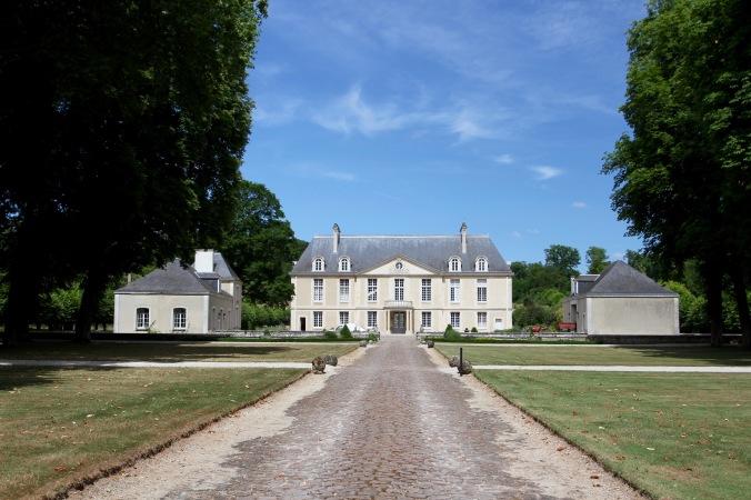 Chateau, Montagne de Reims Champagne Route, Champagne, France