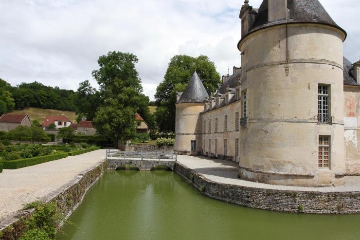 Chateau de Bussy-Rabutin, Burgundy, France