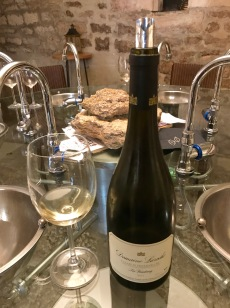 Wine tasting, Chablis, Burgundy, France