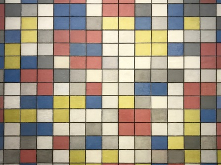 De Stijl and Mondrian exhibition, The Hague, Netherlands