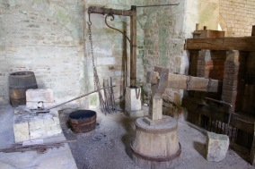 Forge, Abbey de Fontenay, Burgundy, France