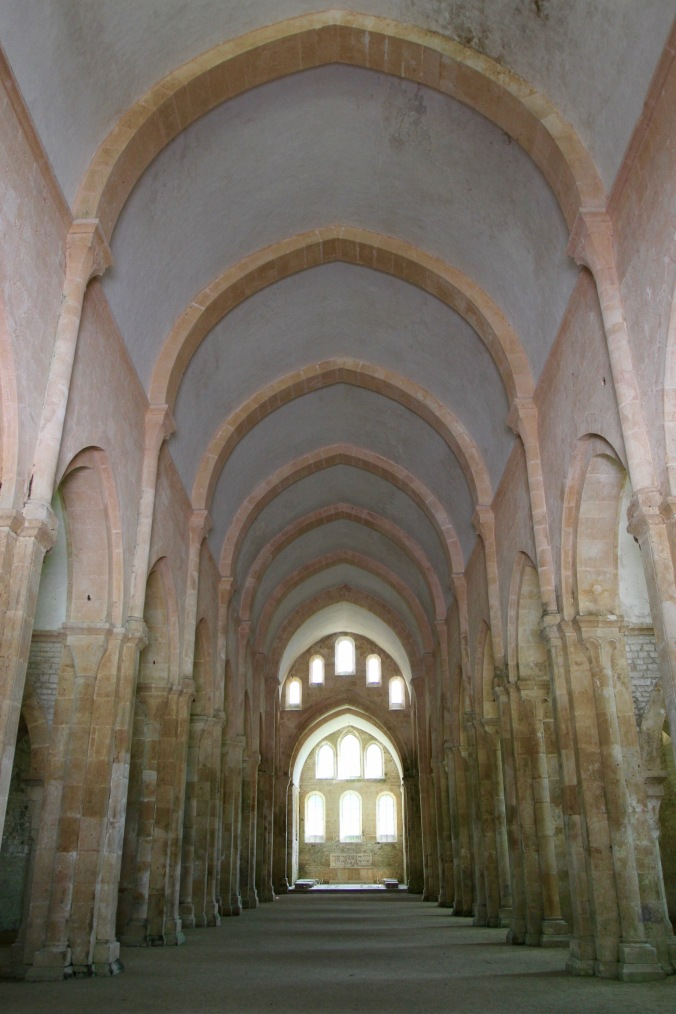 Church, Abbey de Fontenay, Burgundy, France