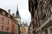 Medieval clocktower, Auxerre, France