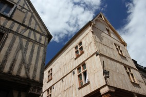 Timber-framed medieval houses, Auxerre, France