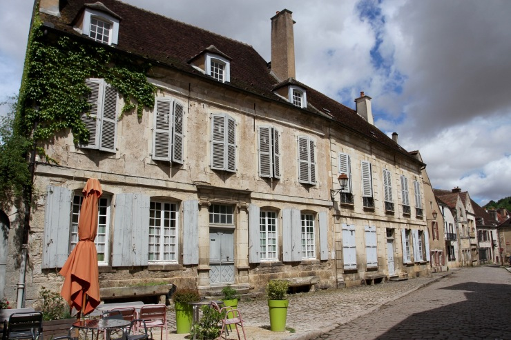 Noyers-sur-Serein, Burgundy, France