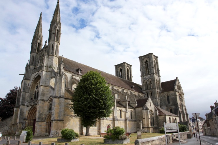 Abbey of St. Martin, Laon, France