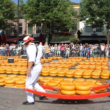 Historic cheese market, Alkmaar, Netherlands