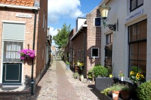 The Hanseatic town of Elburg, Netherlands
