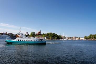 Kastellholmen from Djurgården, Stockholm, Sweden