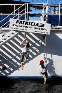 Boats on Södermalm, Stockholm, Sweden