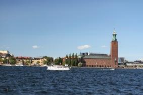 North Stockholm from Södermalm, Stockholm, Sweden