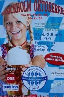 Beer poster, Stockholm, Sweden