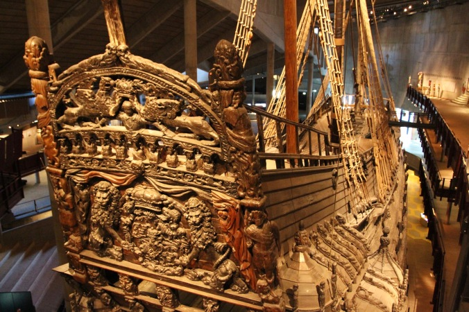 The Vasa, Vasamuseet, Stockholm, Sweden