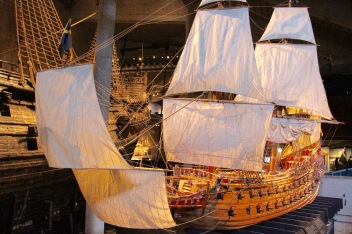 Model of the Vasa, Stockholm, Sweden
