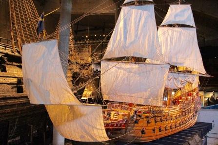Model of the Vasa, Stockholm, Sweden