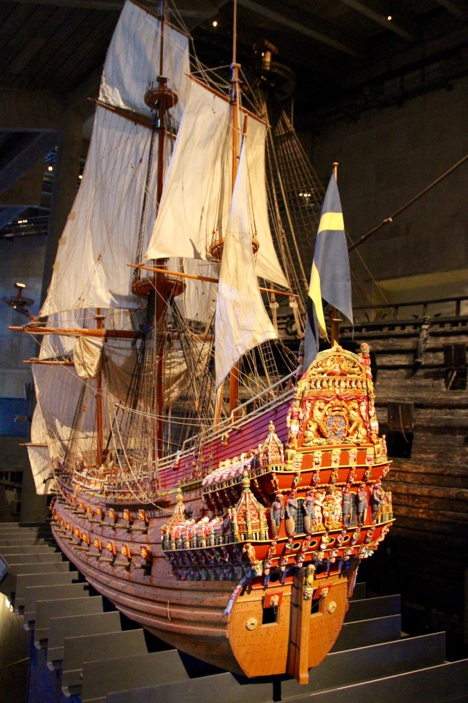 Vasa model, Vasamuseet, Stockholm, Sweden