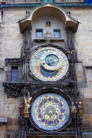 Astronomical Clock, Prague, Czech Republic