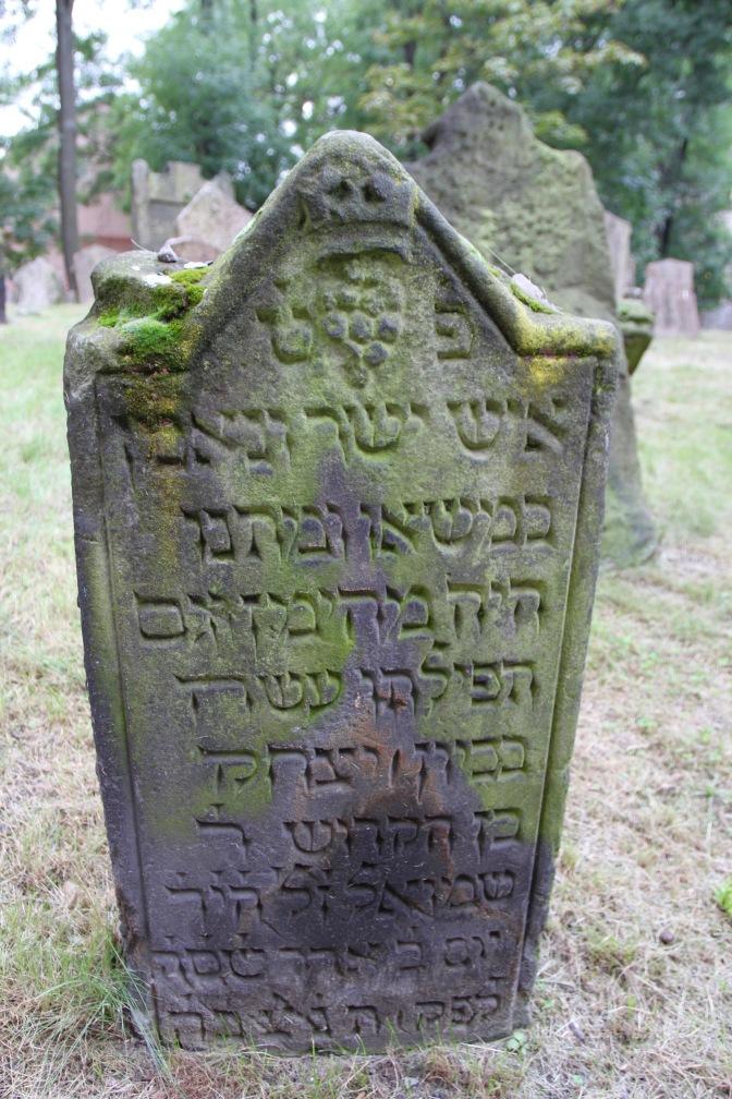 Old Jewish cemetery, Prague, Czech Republic