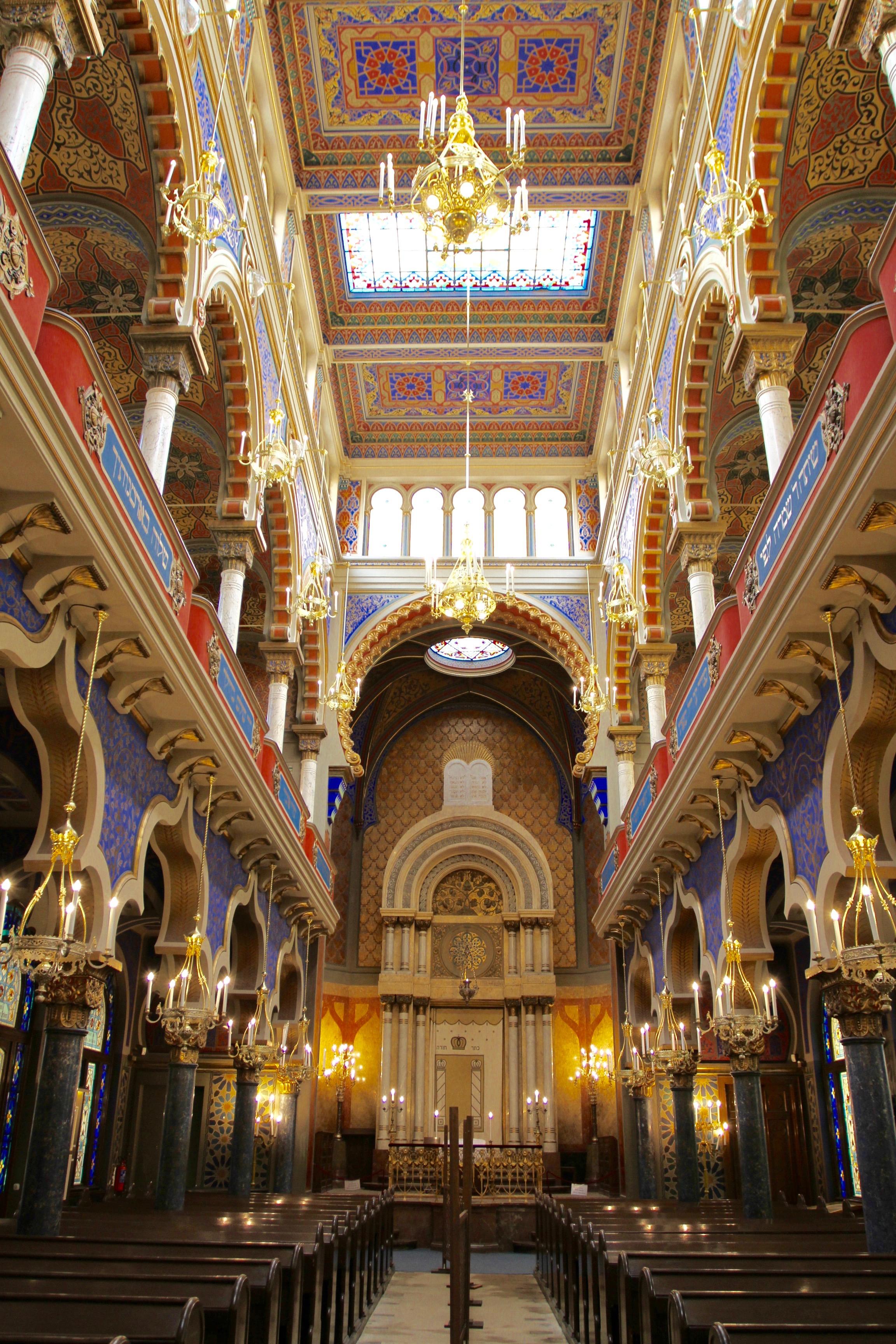 Jerusalem Synagogue Prague Czech Republic Notes From