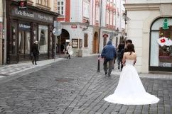 Wedding photos, Prague, Czech Republic