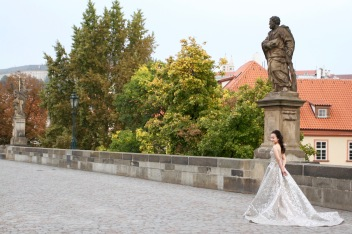 Wedding photos, Prague, Czech Republic