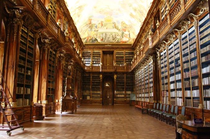 Philosophy Room Library, Strahov Monastery, Prague, Czech Republic
