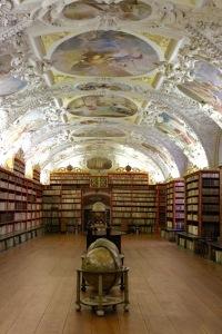 Theology Room Library, Strahov Monastery, Prague, Czech Republic