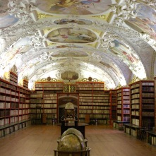 Theology Room Library, Strahov Monastery, Prague, Czech Republic