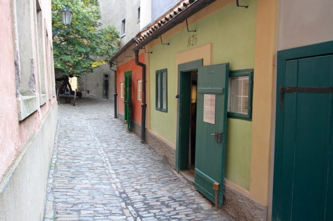 Golden Lane, Prague Castle, Czech Republic