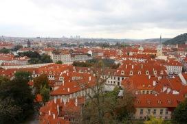 Views over Prague from Prague Castle, Czech Republic